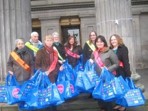 Book Week Scotland volunteers